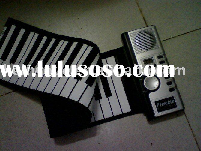 piano hand-rolled keyboard  piano silicone foldable soft keyboard