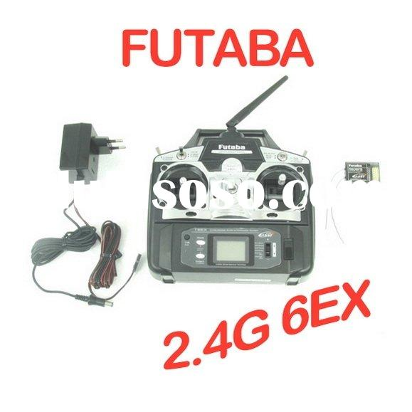 toy Futaba 6EX 2.4GHz 6CH Transmitter System For Both Airplane And Helicopter (TX + RX Only)