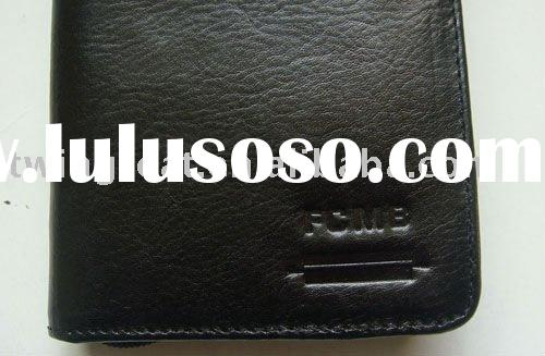 wallet real skin leather