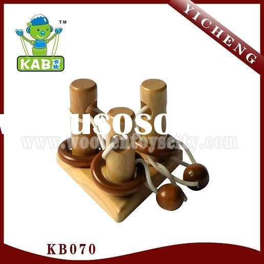 wooden toy,IQ puzzle,wooden game,brain teasers,3d puzzle