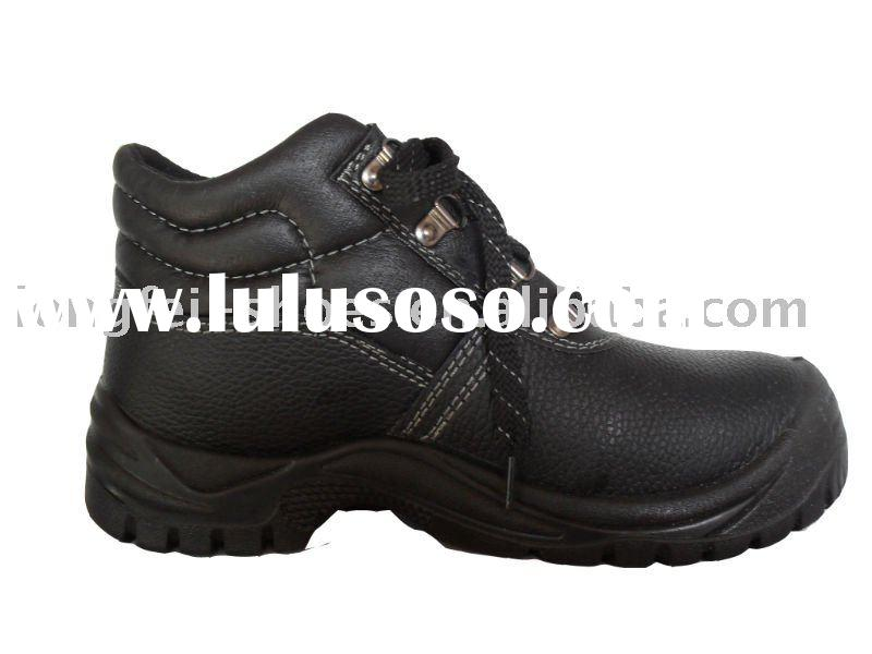 2011 New Genuine Leather Oil Resistant  Safety Shoes
