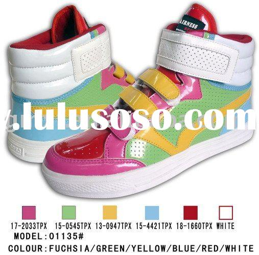 2011 Popular girl skate shoes