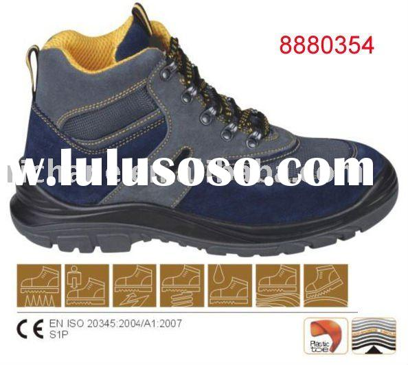 8880354 CE Standard Plastic toe cap Middle cut Industrial Safety Shoes