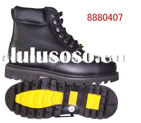 8880407 leather Goodyear Welt Safety Shoes