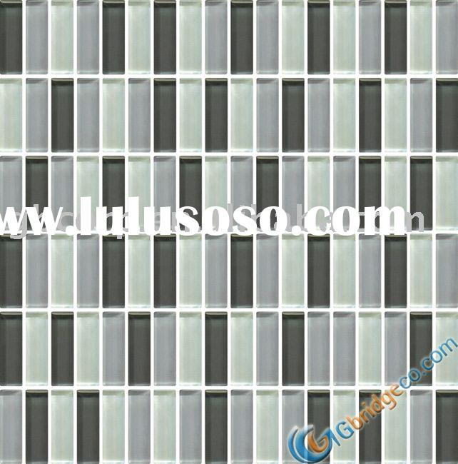 Bathroom Wall Tile Black mix Grey