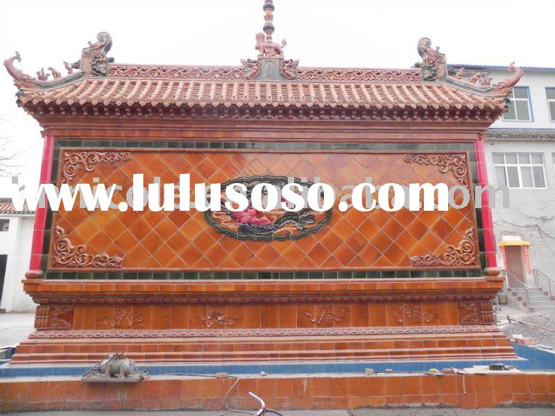 Chinese traditional roof tiles for temple and gazebo
