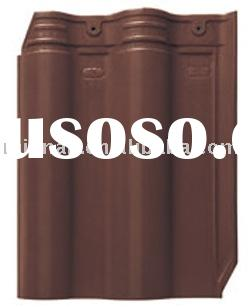 Clay Roof Tile, Interlocking Roof Tile, Glazed Roof Tile