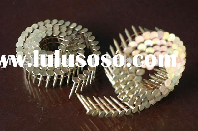 Coil Roofing Nails// Iron,Stainless Steel//E.G.,H.D.G.