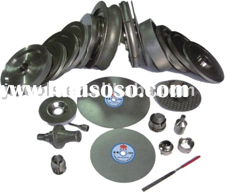 Diamond tools for polishing or cutting or drilling