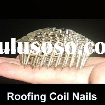 Electro-Galvanized Roofing Coil Nails