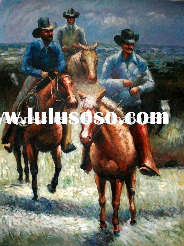 High quality horse oil painting