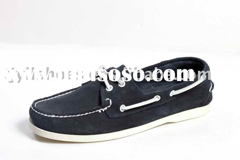 Hot Sell Made in China Shoe,suede cow leather shoes