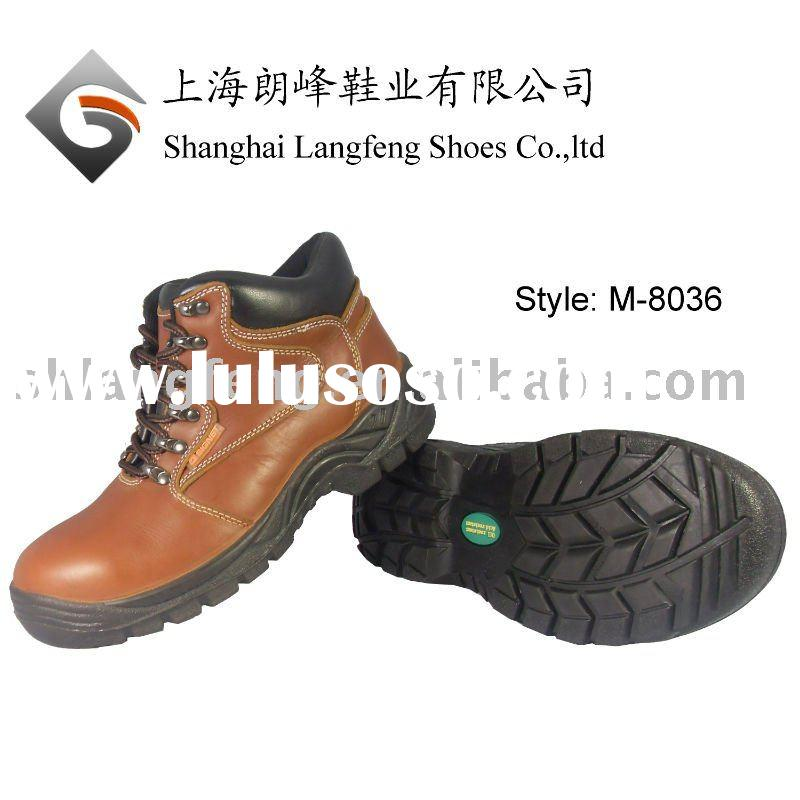 Oil-resistant safety shoes