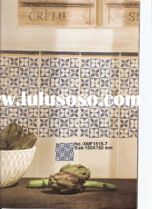 Spain Design Rustic Tile,Ceramic Tiles,Small Size Wall tile