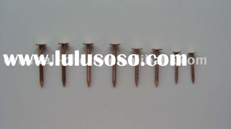 copper roofing  nails