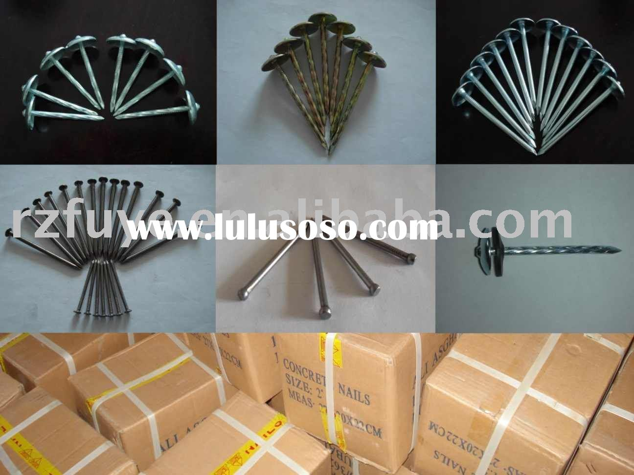 galvanized roofing nail  common nail