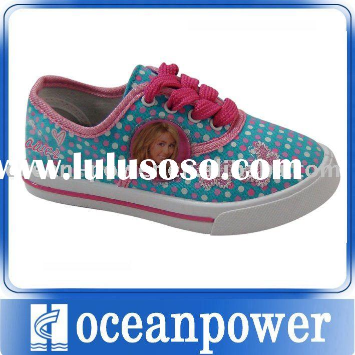 hot selling canvas shoes for kids