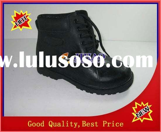 leather kids school shoes