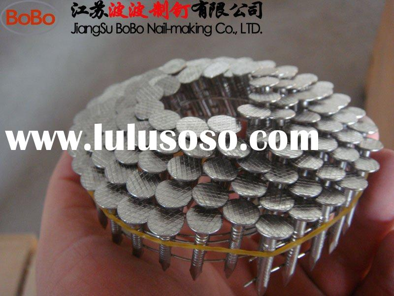 stainless steel coil nails