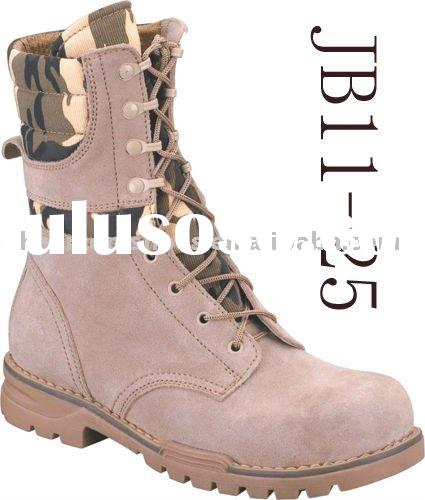 suede army boots