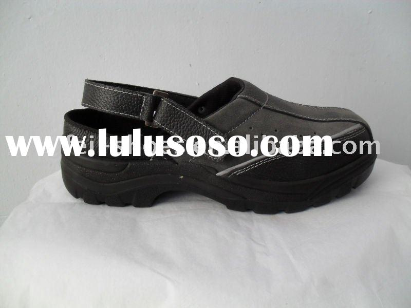 suede leather esd  safety shoes