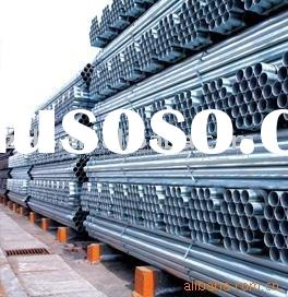 ASTM A53 / ASME SA53 / Pipe Steel Black and Hot Dipped Zinc Coated Welded and Seamless