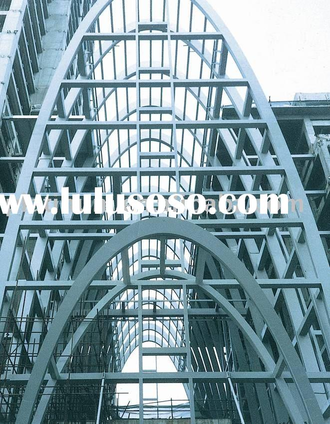 Building structure(construction building,truss, roof trusses, steel frame)