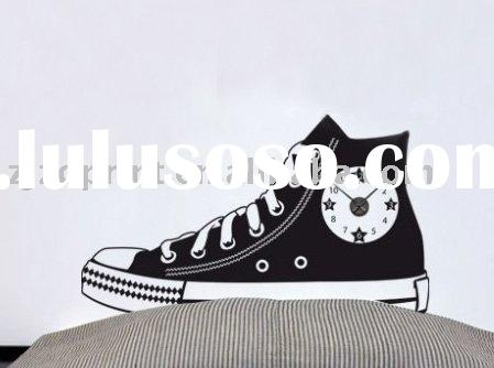 Canvas shoe wall sticker