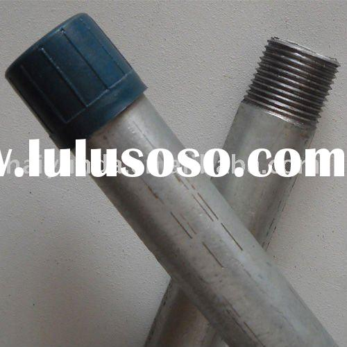 Capped Galvanized Steel Pipe