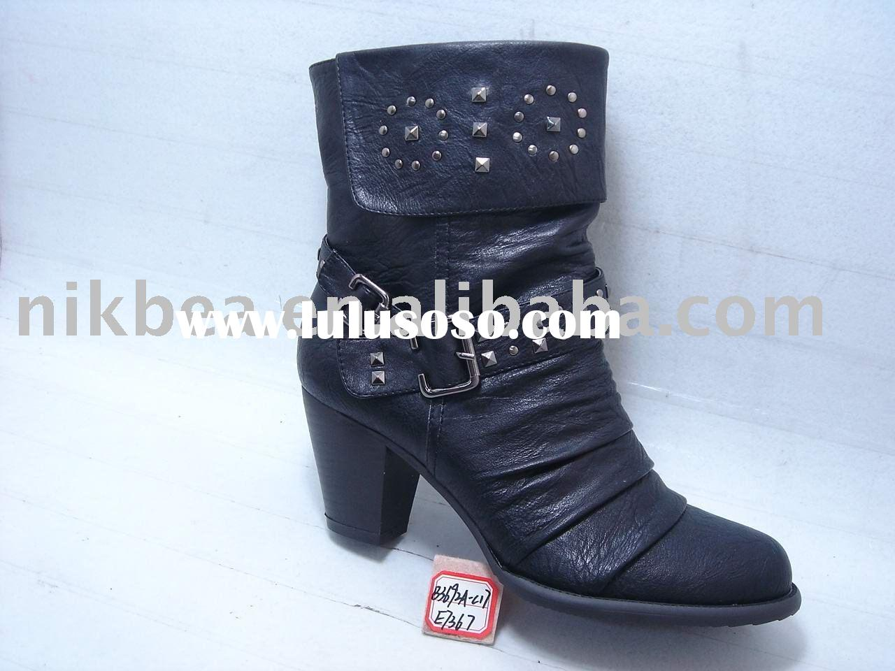 Fashion hot new latest design beautiful women shoes and boots for wholesale