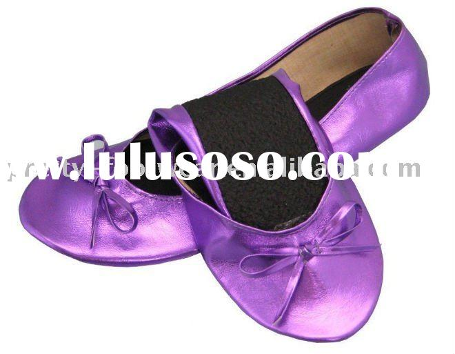 Fashion women's ballet roll up shoes