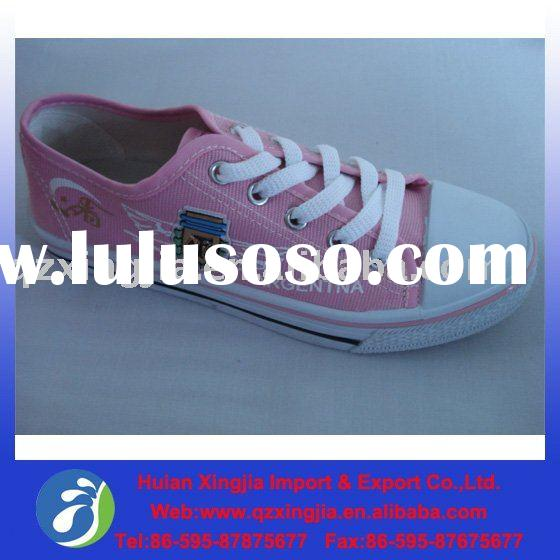 Girls' Cheap Injection Canvas Shoes