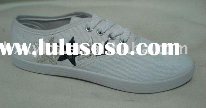 Newest injection canvas shoes