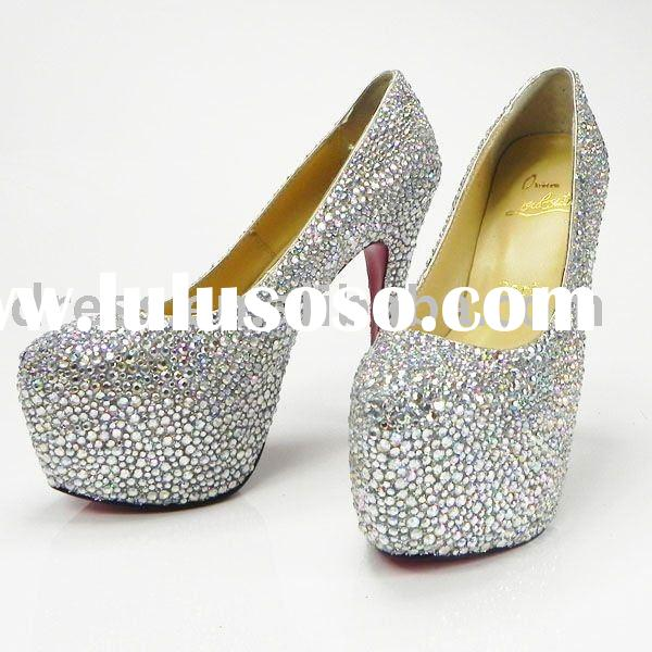 Newest ladies designer high-heeled shoes 2011