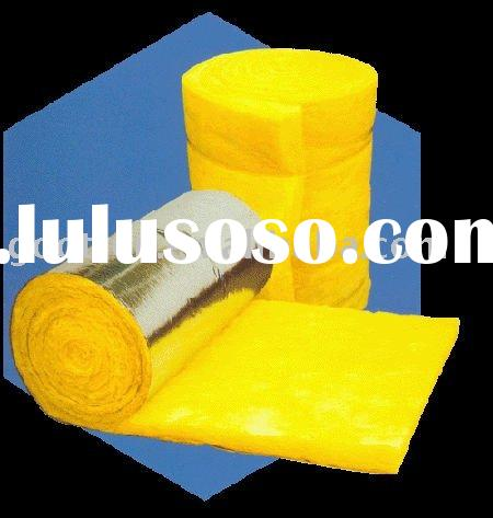 Residential construction soundproof glass wool blankets -48kg/m3,50mm
