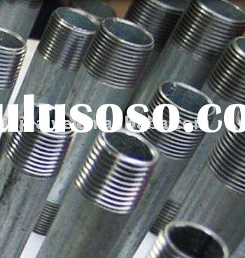 Stainless Steel Pipe Fitting Threaded Nipple