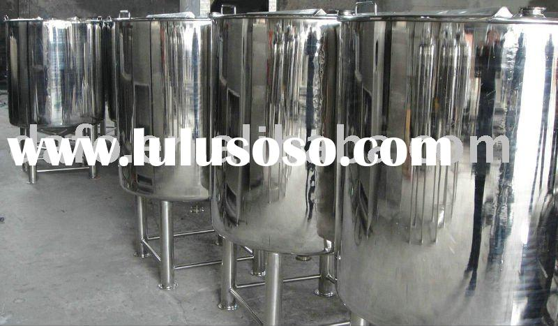 Stainless steel Cosmetic Storage Tank