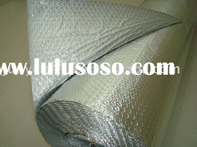 Steel building insulation material