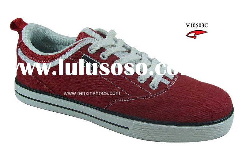 V10503C Red Canvas shoes