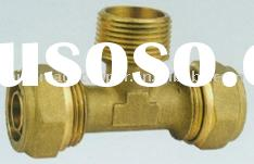 brass fittings--tee