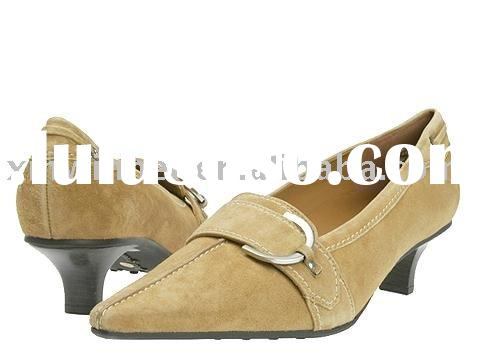 comfortable low heel shoes for big sizes women