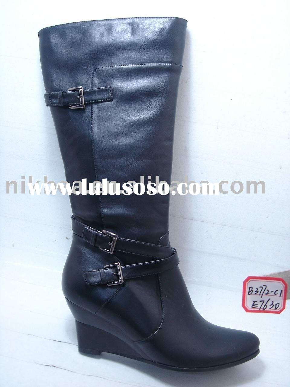 fashion hot new design comfortable ladies boots and shoes for wholesale