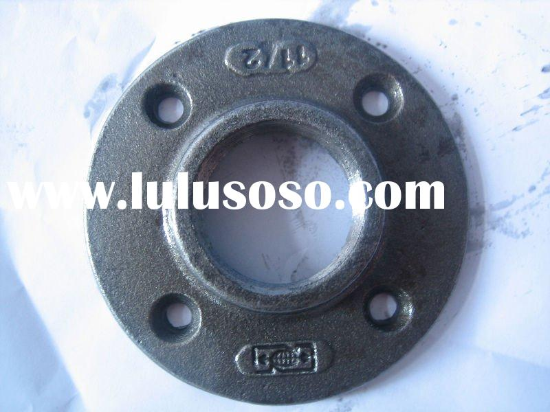 Black iron pipe caps malleable fittings for sale