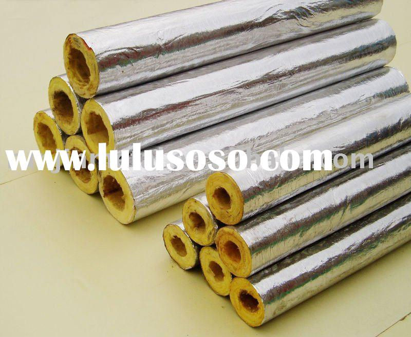 Wonderful glasswool insulation for exporting for sale for Mineral fiber pipe insulation