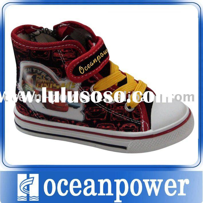 high top canvas shoe for kids