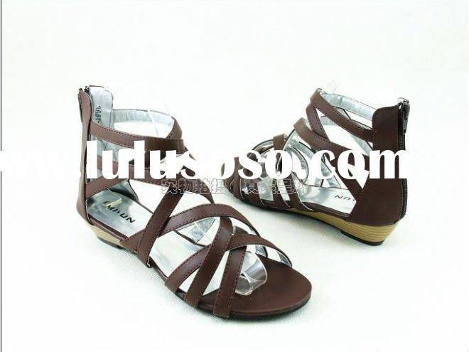 ladies fashion sandals shoes 2011 summer autumn