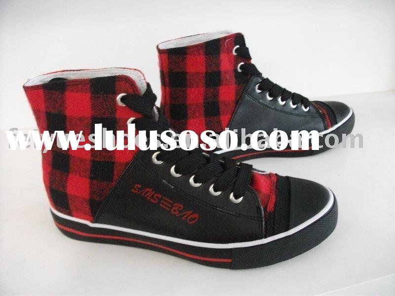 midtop canvas  shoes/hot shoes 2011 new
