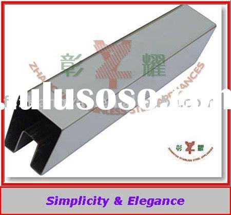 stainless steel handrail slotted square tube from Foshan,China