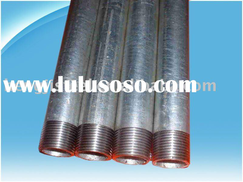supply best price for galvanized steel pipe(BS1387,ASTM A53,GB/T3091-2001