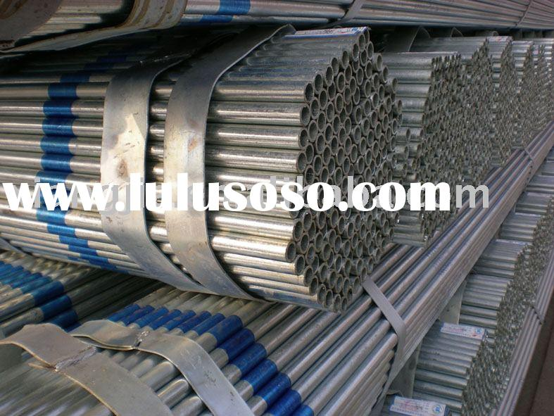 the best price for Galvanized Steel Pipe in China